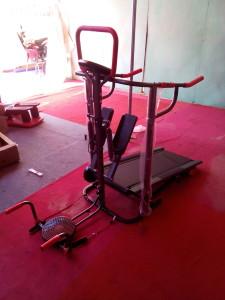 tredmill manual 5fungsi tipe Tl-03/FC-8002