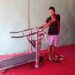 Tredmill manual Murah 6fungsi with steper+ massage