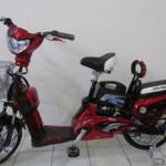 Sepeda motor listrik tipe EARTH, bebas polusi ramah lingkungan