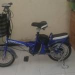Sepeda listrik bisa di lipat