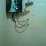 Water heater gas LPG