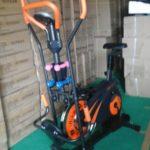 Sepeda Orbitrek plat 6 fungsi